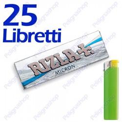 1250 Cartine Rizla Micron corte - 25 libretti