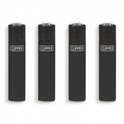 Clipper Micro fantasia BLACK SOFT - 4 Accendini gommati