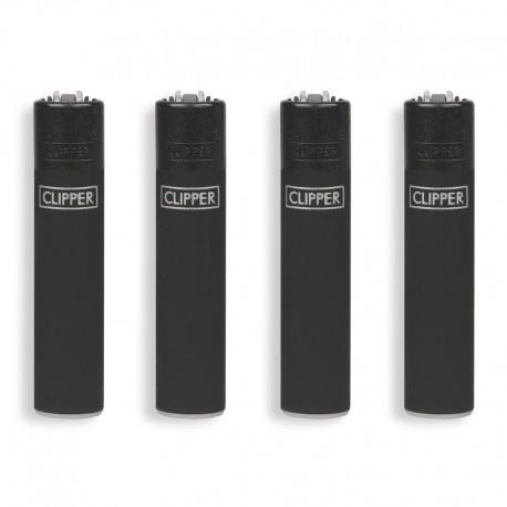 Clipper Micro fantasia BLACK SOFT - 4 Accendini gommati