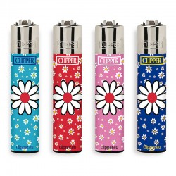 Clipper Large Fantasia DAISIES 6 - 4 Accendini
