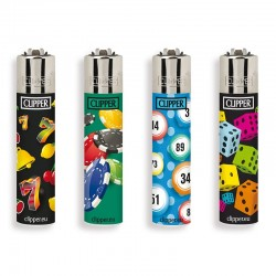 Clipper Micro Fantasia GAMES 17 - 4 Accendini