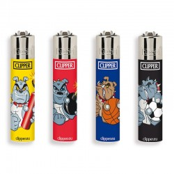 Clipper Micro Fantasia ANIMALS 10 - 4 Accendini