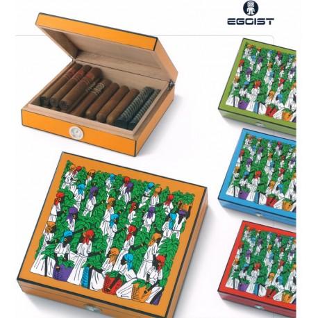 Humidor Royale umidificatore in legno colorato