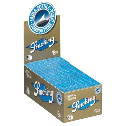 CARTINE SMOKING BLU CORTE - box da 50 LIBRETTI