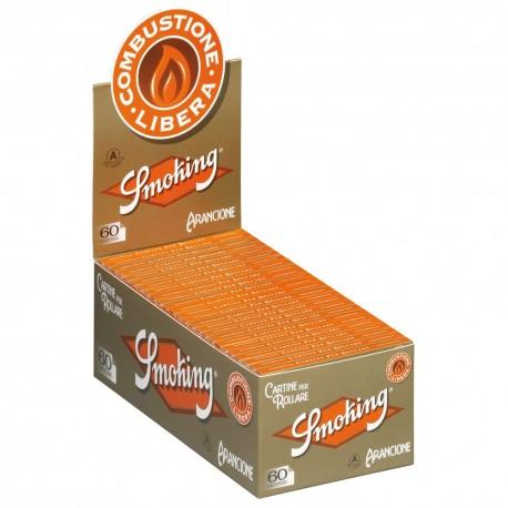 CARTINE SMOKING ORANGE CORTE - box da 50 LIBRETTI