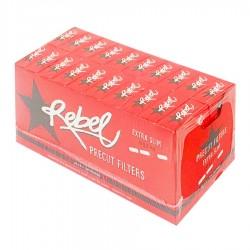 2400 Filtri Ultra Slim Rebel Pop Tips 5,7 - 1 Box da 20