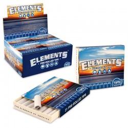 Filtri a Libretto Elements Pre Rolled Tips - 1 Box da 20