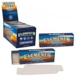 Filtri a Libretto Elements Gommati Perforati - 1 Box da 24