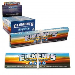 Cartine Lunghe Elements Connoisseur + Filtri - 1 Box da 24