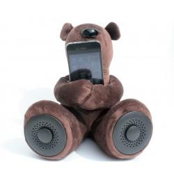 Dj Teddy Satzuma - Altoparlante stereo a forma di Orsacchiotto