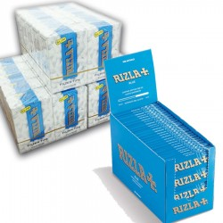 5000 Cartine Rizla Blu Corte + 4500 Filtri Slim 6mm Rizla