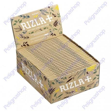 Cartine RIZLA NATURA Lunghe Kingsize Slim Biodegradabili 1 Box