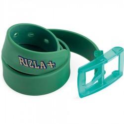 Cintura RIZLA ROLLING BELT Cinta in silicone regolabile VERDE