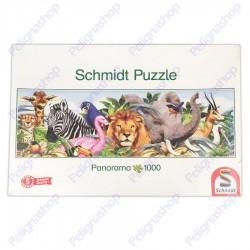 Puzzle Schmidt 1000 pezzi ANIMALI DELLA JUNGLA