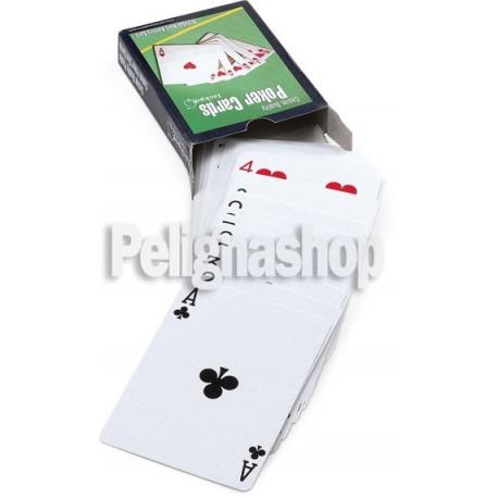 JUEGO MINI POKER SET con un mazzo carte da poker e 50 fiches