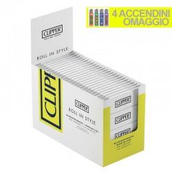 Cartine Clipper Bianche Corte - Box da 100 Libretti