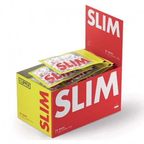 Clipper Slim 6mm Lisci - Box 34 Bustine da 120 Filtri
