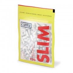 Clipper Slim 6mm Lisci - Bustina Singola da 120 Filtri