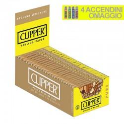 Cartine Clipper Pure Corte - Box da 50 Libretti