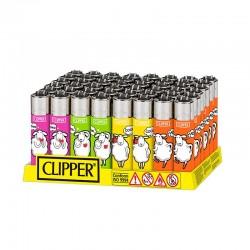 Clipper LARGE Fantasia FUNNY SHEEP K - Box da 48 Accendini