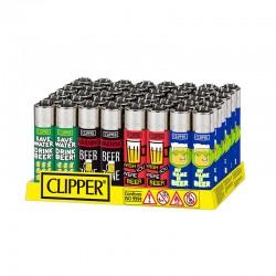 Clipper LARGE Fantasia HAPPY BEER K - Box da 48 Accendini