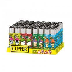 Clipper LARGE Fantasia COOL SPRAY K - Box da 48 Accendini