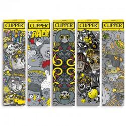 Cartine Clipper Argento King Size Slim Lunghe - 3 Libretti Singoli