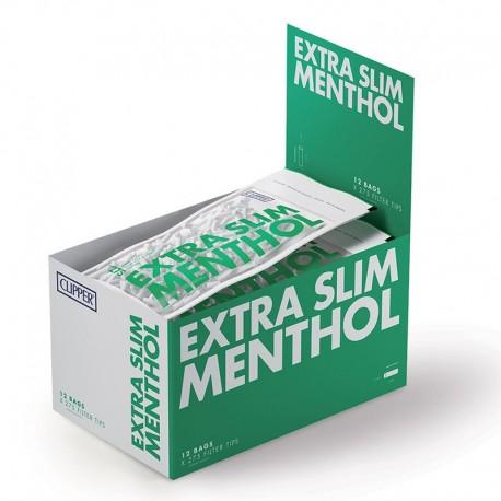 Clipper Extra Slim 5,5mm Lisci al Mentolo - Box 10 Bustine da 275 Filtri