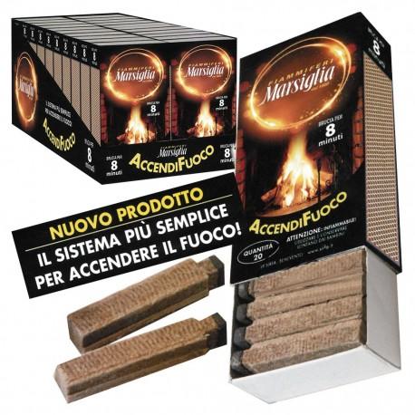 Accendifuoco Marsiglia - 1 Box da 20 scatoline