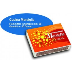 Fiammiferi Cucina Marsiglia - 5 scatoline da 60