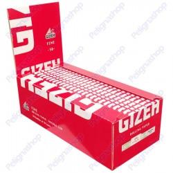 Cartine Gizeh Super Fine Corte Extra Slim - Scatola da 50 Libretti