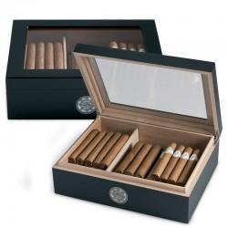 Egoist Humidor Vetro Black - Umidificatore per sigari