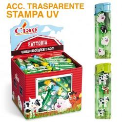 Ciao Piezo Fattoria - Box da 100 Accendini