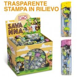 Ciao Piezo Large Savanna - Box da 100 Accendini