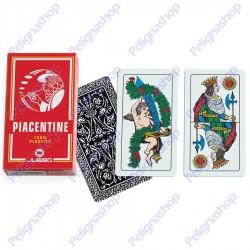 Mazzo di Carte da gioco Juego Piacentine 100% plastica