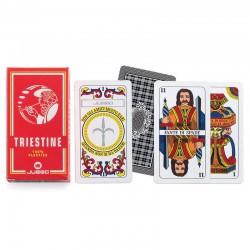 Carte da Gioco Juego Triestine - 1 mazzo da 40 carte in Plastica