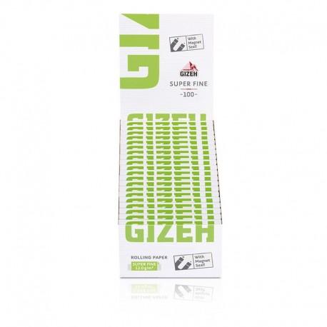 10 x 100 Gizeh Black Extra Fine Cartine per sigarette
