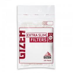 Gizeh Extra Slim 5,3mm - Box da 20 Bustine da 150 Filtri