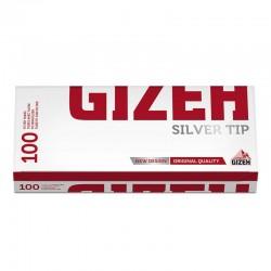 Gizeh Tubetti con filtro Silver Tip - Box da 100 Sigarette Vuote