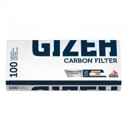 Gizeh Tubetti con Filtro ai Carboni Attivi - Box da 100 Sigarette Vuote