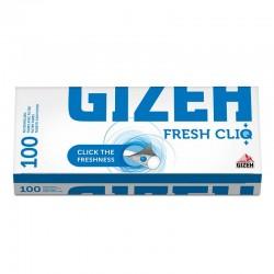 Gizeh Tubetti con Filtro con CLIQ con aroma fresco - Box da 100 Sigarette Vuote