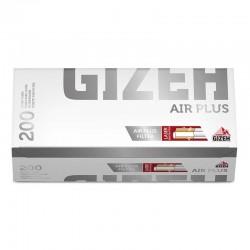 Gizeh Tubetti Air Plus con Filtro Forato - Box da 200 Sigarette Vuote