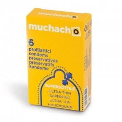 Muchacho Ultra Sottili - Scatolina da 6 Preservativi