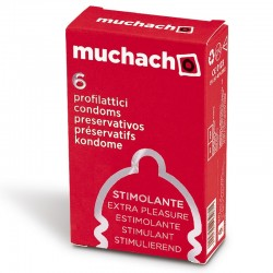 Muchacho Stimolante - Scatolina da 6 Preservativi