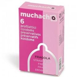 Muchacho Fragola - Scatolina da 6 Preservativi