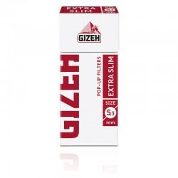 Gizeh Ultra Slim 5,3mm Pop-up In Cannuccia - Scatolina da 126 Filtri
