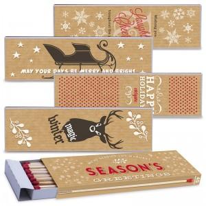 Fiammiferi Fiammino Caminetto Holiday - Box da 12 scatoline