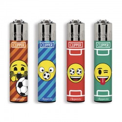 Clipper Large EMOJI MIX L Serie 1 - 4 Accendini sfusi
