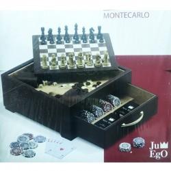 Juego Montecarlo - Scacchi Fiches Carte da Gioco Dadi