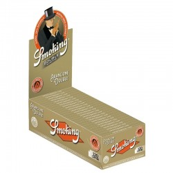 Cartine Smoking Organe Corte Doppie - Box da 25 Libretti